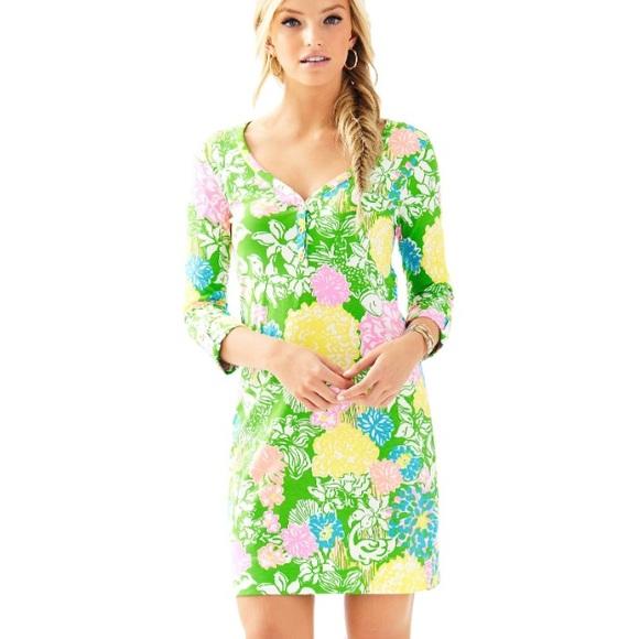 dbddc73397 Lilly Pulitzer Dresses   Skirts - Lilly Pulitzer Palmetto Dress Multi  Hibiscus Strol